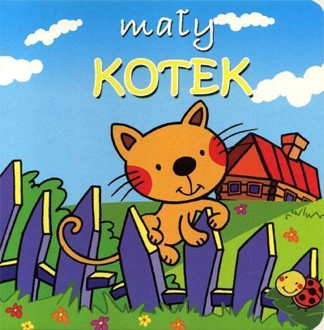 Małe zwierzątka - Mały kotek - Anna Kotlonek