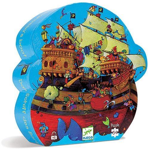 Puzzle w pudełku - Statek piracki