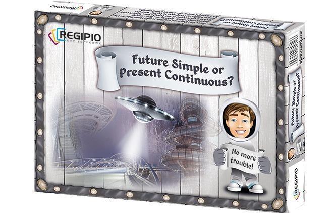 Future Simple or Present Continuous REGIPIO