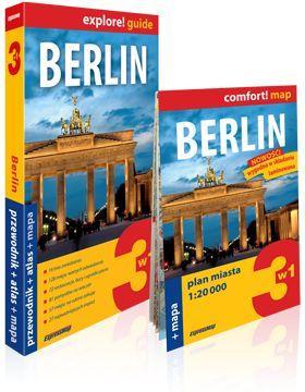 Explore!guide Berlin 3w1 Przewodnik Wyd.III - brak