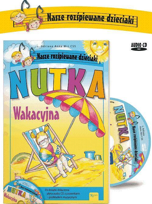 Nutka wakacyjna + CD - Adriana Anna Miś CSS