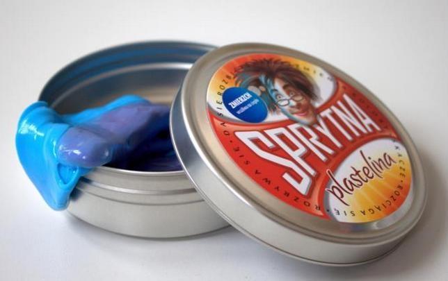 Sprytna Plastelina - Wrażliwa na ciepło Zmierzch