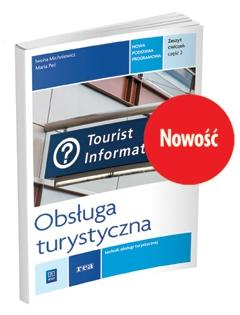 Obsługa turystyczna. Kwal.T.13 ćw cz.2 REA-WSiP - Iwona Michniewicz, Maria Peć