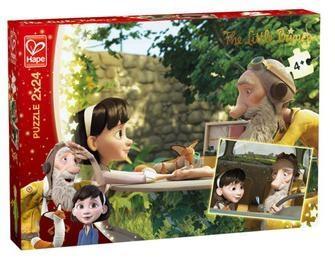 Puzzle 2x24 Mały Książę - Przywiązanie