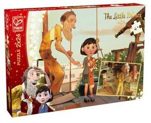 Puzzle 2x24 Mały Książę - Odkrywanie