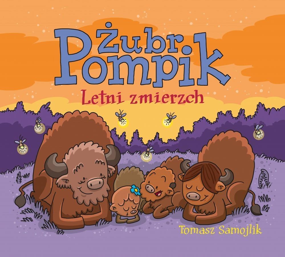 Żubr Pompik. Letni zmierzch
