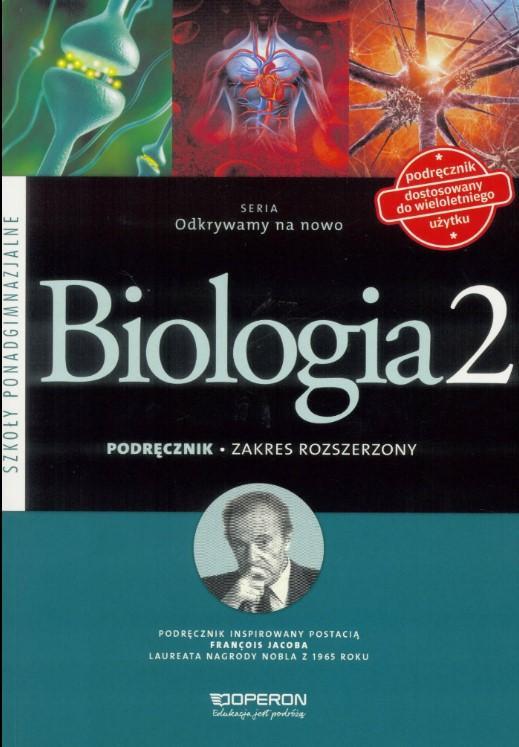 Biologia LO 2 Odkrywamy na.. podr ZR w.2016 OPERON - Dawid Kaczmarek, Monika Zaleska-Szczygieł