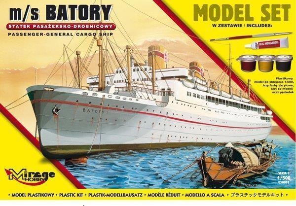 Statek Pasażersko - drobnicowy m/s BATORY