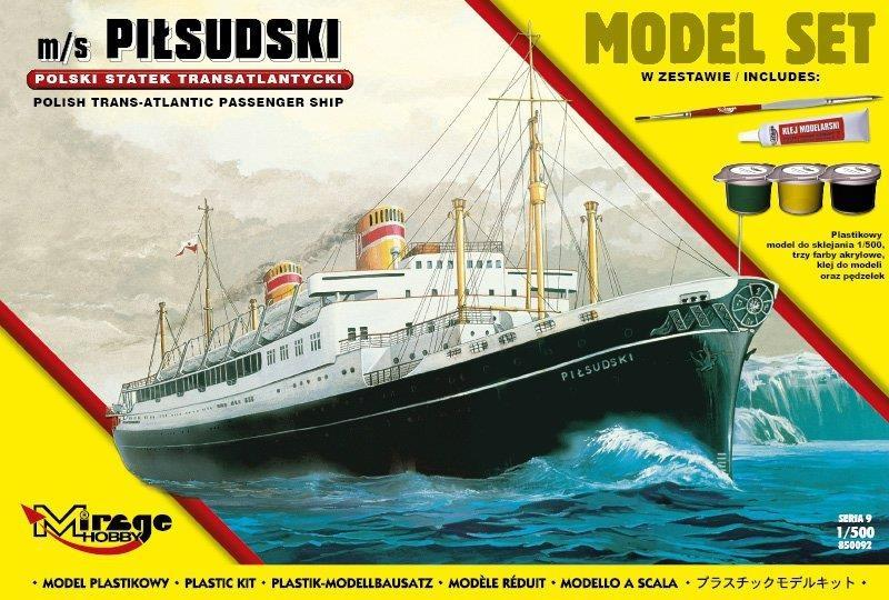 Statek Transatlantycki m/s PIŁSUDSKI