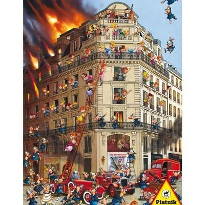 Puzzle 1000 - Straż pożarna PIATNIK - brak