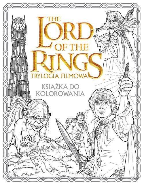 Władca pierścieni. Książka do kolorowania