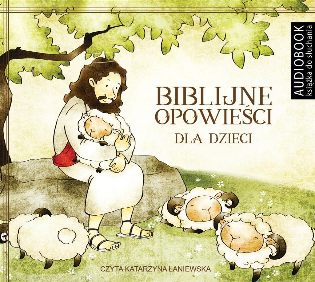 Biblijne opowieści dla dzieci. Audiobook - Grzegorz Grochowski, Katarzyna Łaniewska (lektor)