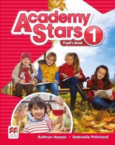 Academy Stars 1 PB + kod online MACMILLAN - Kathryn Harper, Gabrielle Pritchard