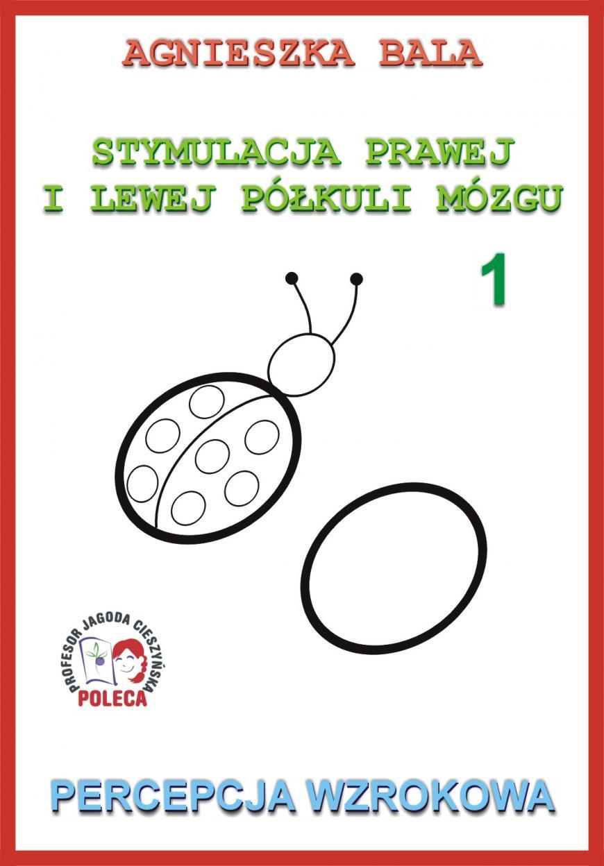 Stymulacja prawej i lewej półkuli 1 Percepcja wzr. - Agnieszka Bala