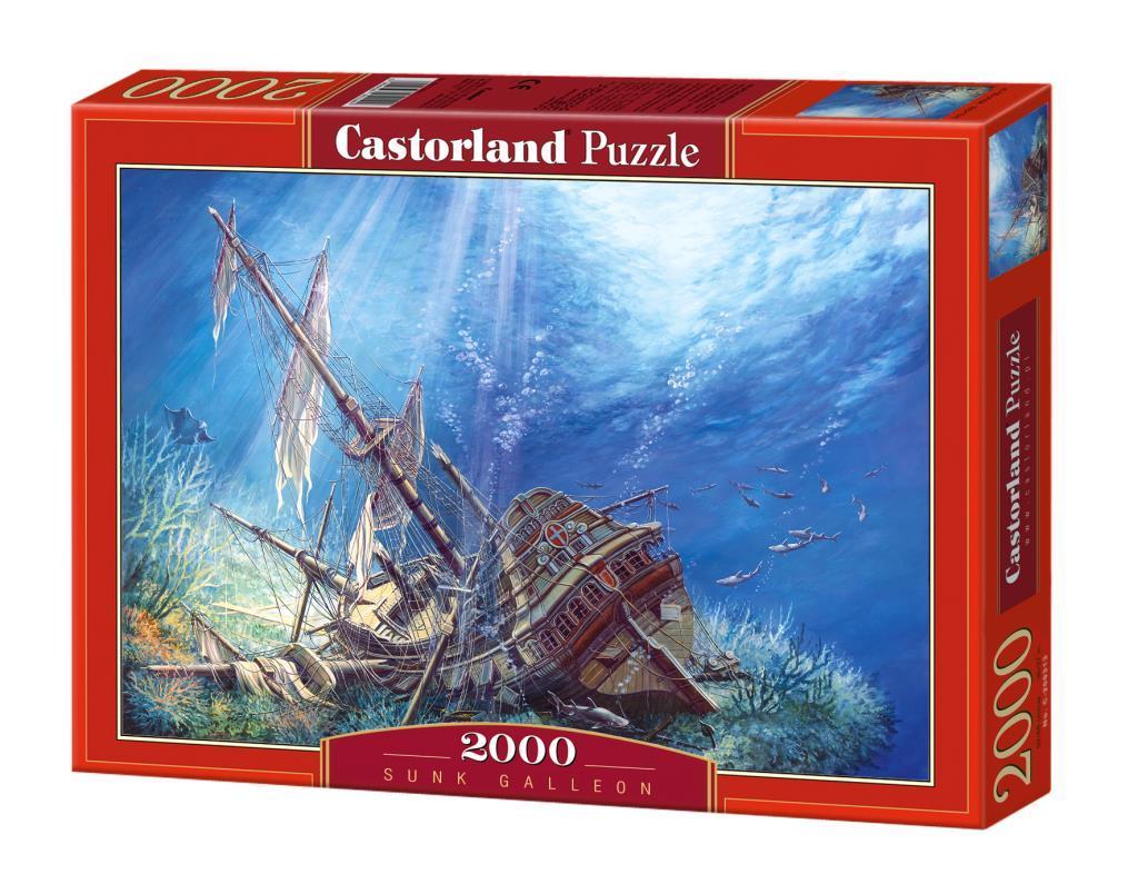 Puzzle 2000 Zatopiony statek CASTOR