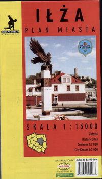 Iłża Plan miasta 1:13000