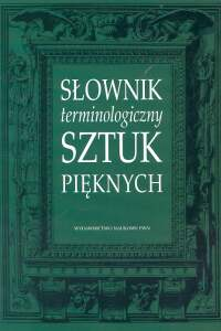 Słownik terminologiczny sztuk pięknych - brak