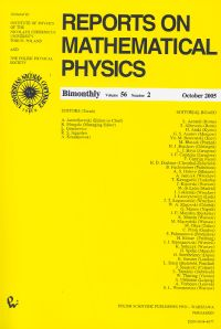 Reports on Mathematical Physics 56/2 wer.kraj. - brak