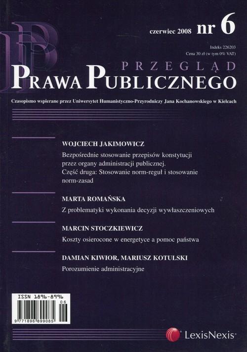 Przegląd Prawa Publicznego 2008/06 - brak