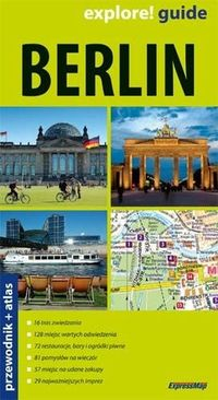 Berlin przewodnik + atlas