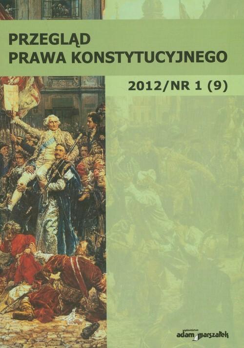 Przegląd Prawa Konstytucyjnego 1/2012 - brak