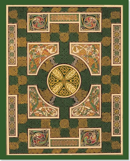Notatnik Duży Celtyckie Kolory - brak