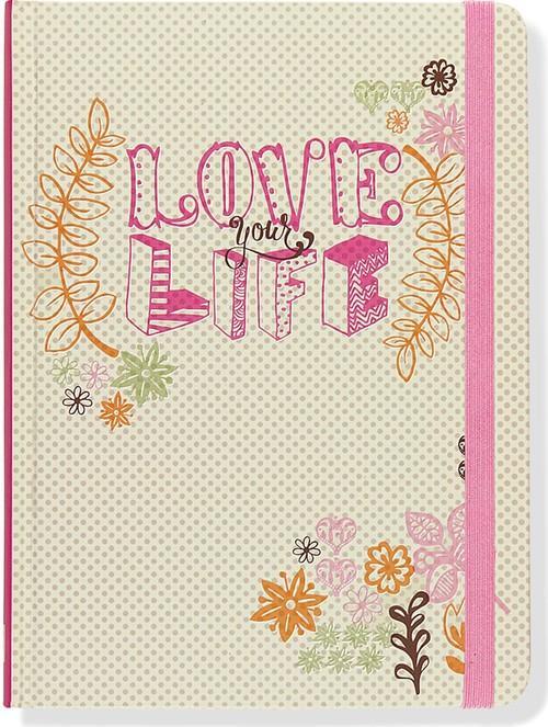 Notatnik Midi Kochaj swoje życie - brak
