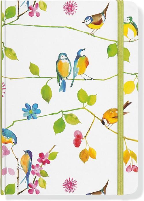 Notatnik Mini Ptaki Akwarela - brak