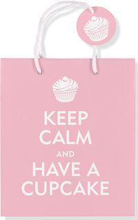 Torebka Zachowaj spokój i zjedz ciastko - .