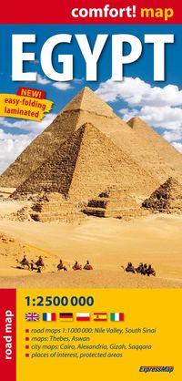 Egypt 1:2 500 000 laminowana mapa samochodowa