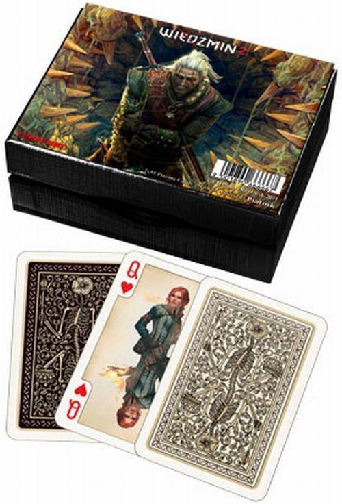 Karty do gry Piatnik 2 talie lux Wiedźmin 2