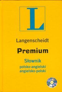 Słownik Premium polsko-angielski angielsko-polski z płytą CD - brak
