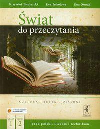 J.Polski LO Świat do przeczytania 1/2 w.2013 NPP