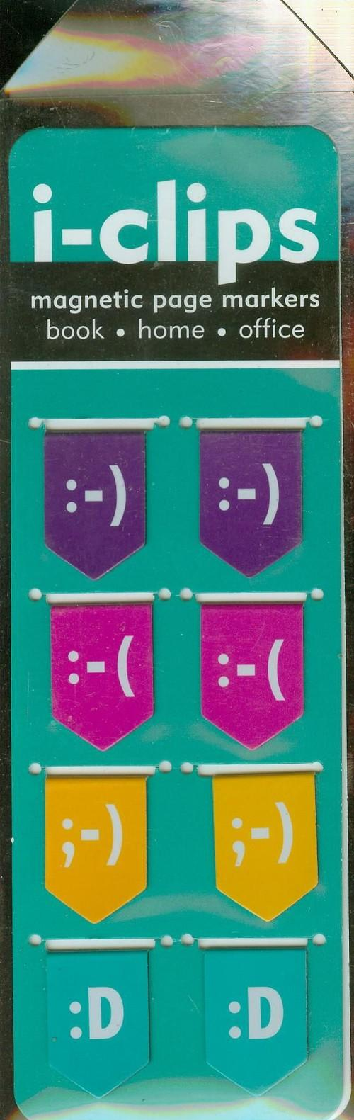 Zakładka magnetyczna Emotikony - brak