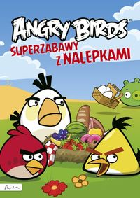 Angry Birds Superzabawy z nalepkami - brak