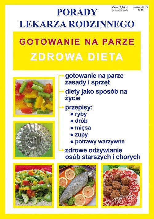Gotowanie na parze Zdrowa dieta - Basse Monika