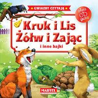 Kruk i lis Żółw i zając i inne bajki + CD