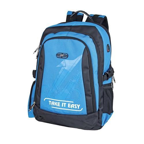 Plecak Take it easy niebieski