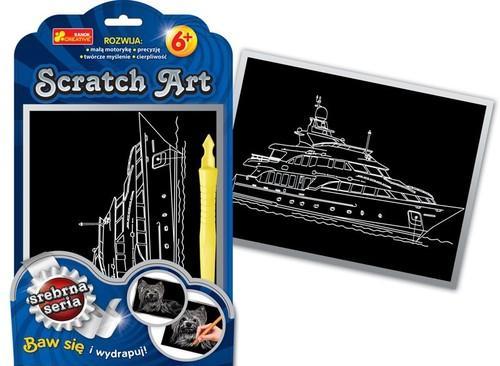 Scratch Art Statek