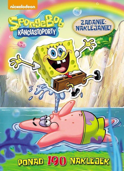 SpongeBob Kanciastoporty Zadanie: naklejanie!