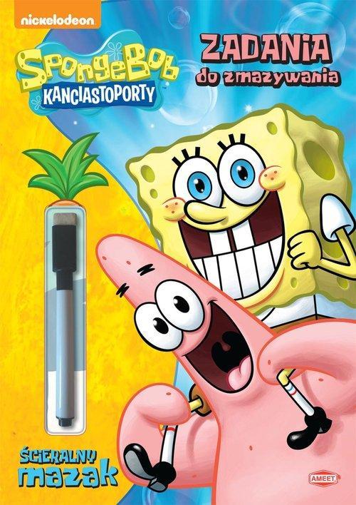 SpongeBob Kanciastoporty Zadania do zmazywania