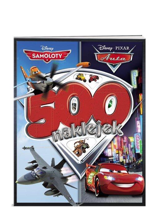 Auta Samoloty 500 naklejek