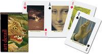 Karty do gry Piatnik 1 talia, Artystyczne detale - PRACA ZBIOROWA