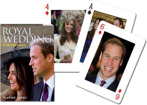 Karty do gry Piatnik 1 talia Królewskie wesele - brak