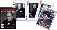 Karty do gry Piatnik 1 talia Churchill - PRACA ZBIOROWA
