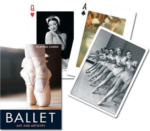 Karty do gry Piatnik 1 talia Balet - brak