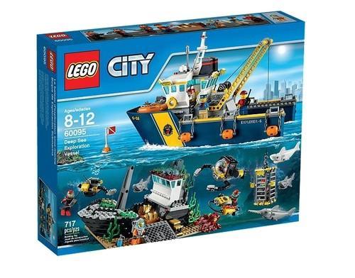 Lego City Statek do badań głębinowych
