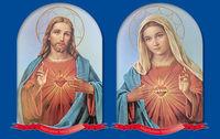 Kalendarz trójdzielny 2016 Serce Jezusa, Serce Maryi