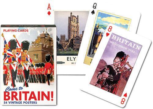 Karty do gry Piatnik 1 talia Brytania - brak
