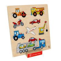 Pojazdy Puzzle - brak